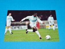 CLAUDE MAKELELE PHOTO PANINI FOOTBALL 1997-1998 OLYMPIQUE MARSEILLE OM