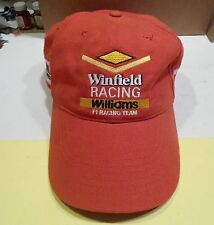 WINFIELD RACING Williams F1  baseball CAP Formula One Grand Prix auto race hat