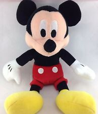 "Disney Mickey Mouse Plush 10"" 25cm Stuffed Animal Toy Store Tag Black Overalls"