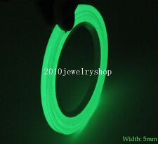 Green Glow In Dark Luminous Tape Self-adhesive For Stage Home Decoration 5mmx5M