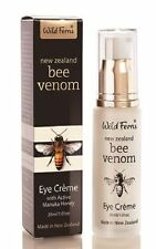 NEW ZEALAND Wild Fern Bee Venom Eye Creme with Active Manuka Honey ( 30g )