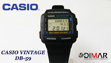 VINTAGE CLASSICO CASIO COLLECTION DB-59 DATA BANK RUBRICA MULTILINGUE