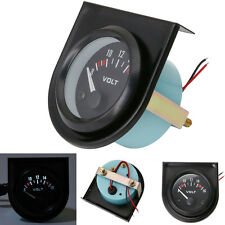 New 2'' 52mm Mechanical Car Auto Volt Voltmenter Voltage Meter Gauge LED 8-16V