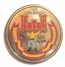 Headquarters Company, 84th Engineer Combat Battalion OIF Challenge Coin