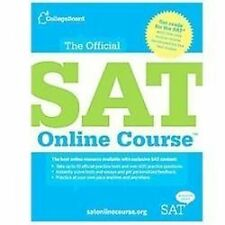 The Official SAT Online Course, The College Board, Excellent Book