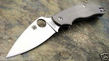 Spyderco UK Pen Knife Titanium C94TIP