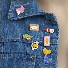 8pcs Enamel Lovely Animal Collar Pins Badge Corsage Cartoon Brooch Jewelery