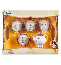 Disney Mrs Potts Beauty & The Beast Talking Playset Juego De Té Juego De Taza De Chip