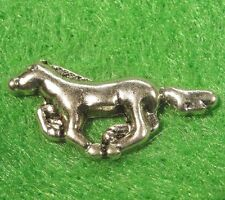 50Pcs. WHOLESALE Tibetan Silver HORSE Charms Pendants Earring Drops Q0122
