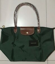 Authentic Longchamp le pliage large bag loden green