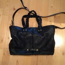 Women's Sonia Rykiel Black Leather hobo bag New with cover-bag
