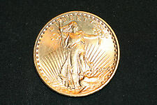 1924 $20.00 Saint-Gaudens Gold Coin Mint State Plus Free Priority Shipping