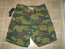 "Men's $85 POLO-RALPH LAUREN ""Camo"" Swim/ Board Shorts (36)"