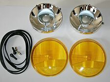 FOR PORSCHE 911 964 H4 RHD HEADLIGHT RESTORATION KIT YELLOW BRAND NEW 12 PIECES