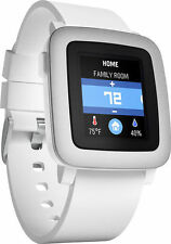 Pebble Time SmartWatch White Android/iOS NIB