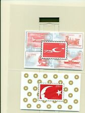 BANDIERE - FLAGS TURKEY 1998 blocks B