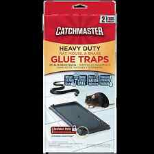 Catchmaster Baited Rat, Mouse and Snake Glue Traps Professional Strength (2-Pack