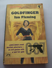 James Bond Gold Finger by Ian Fleming Pan Books 1962 6th Printing