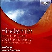 HINDEMITH: SONATAS FOR VIOLA AND PIANO NEW & SEALED