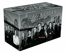 Law and Order: The Complete Series DVD 104-Disc Set (2011) 1-20 Seasons Set