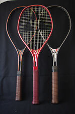 Nice N.O.S lot of three different Fischer Penta model vintage tennis racquets