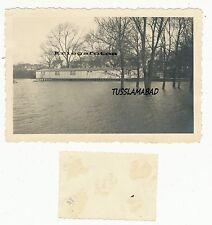 Braunschweig Holzhaus am Wasser Stadt alte Häuser  1942 siehe Foto