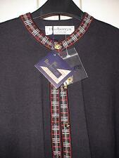 "BURBERRYS NAVY BB TRIM CARDIGAN SIZE 40"" WOOL RRP £249.99"