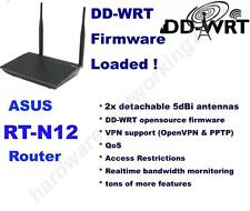 ASUS RT-N12 Wireless N300 High Power Router with DD-WRT VPN Firmware