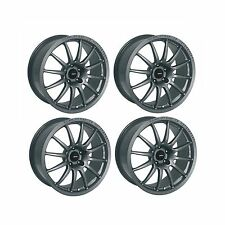 4 x Team Dynamics Graphite Satin Pro Race 1.2 Alloy Wheels- 4x108 | 16x7"