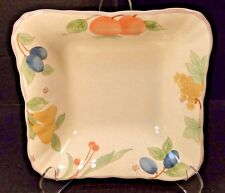 "Mikasa Fruit Panorama Square Vegetable Serving Bowl 7 5/8"" DC014 EXCELLENT!"