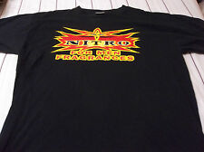 WCW Monday Nitro RARECOLOGNE PROMO SHIRT SIZE ADULT XL LOOK WRESTLING