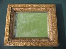 VERY NICE ANTIQUE VICTORIAN PICTURE FRAME- DEEP GOLD GESSO FRAME C. 1860 TO 80