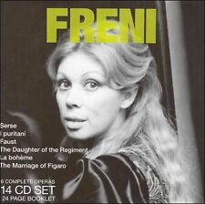 FREE US SH (int'l sh=$0-$3) NEW CD Mirella Freni: Legendary Performances Box set