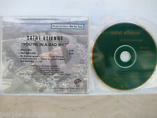 Saint Etienne-you 're in a bad way CD warner bros. pro-cd-5948 promo only