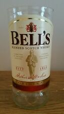 Bells whisky upcycled glass