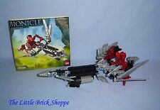 Rare Lego Bionicle 8698 VULTRAZ - Complete with instructions and spheres