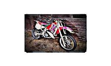 1988 cr250 Bike Motorcycle A4 Photo Poster