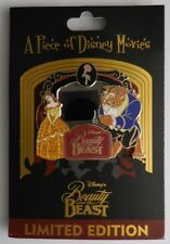 Disney Pin DLR WDW Piece of Disney Movies Beauty and the Beast Pin LE2000