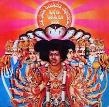 THE JIMI HENDRIX EXPERIENCE - Axis: Bold As Love (LP) (Includes Insert) (G-/G+)