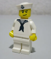 Sailor Series 4 Eye Wink Hat Anchor Navy Boatman LEGO Minifigure Mini Figure Fig
