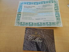 ANTIQUE COLLECTIBLE ROLEX CELLINI 6621 CERT AND BOOKLET FROM THE 90'S
