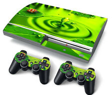 PS3 Original PlayStation 3 Skin Stickers PVC for Console & 2 Pads Ladybird
