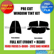 FORD FOCUS 5-DOOR 2012+ FULL PRE CUT WINDOW TINT KIT