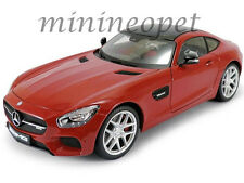 MAISTO 38131 EXCLUSIVE EDITION MERCEDES BENZ AMG GT 1/18 DIECAST MODEL CAR RED