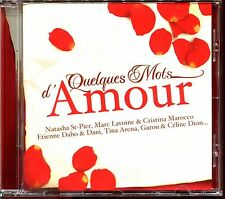 QUELQUES MOTS D'AMOUR - SLOWS - CD COMPILATION [2140]
