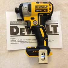 "New Dewalt DCF887 1/4"" 3 Speed 20V Max XR Brushless Impact Driver Made in USA"