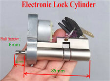 Full Metal Gear Motor Electronic Lock Core Door Key Lock Cylinder Rebuild DIY