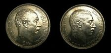 Denmark 1912 2 Kroner Death of Frederick VIII Accession of Christian X  AU+ 5079