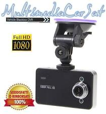 MINI TELECAMERA DVR PER AUTO FULL HD 1080P MONITOR LCD 2.4 SD VIDEO CAMERA