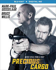 Precious Cargo NEW Blu-ray disc/case/cover & SLIP-no digital- Bruce Willis 2016